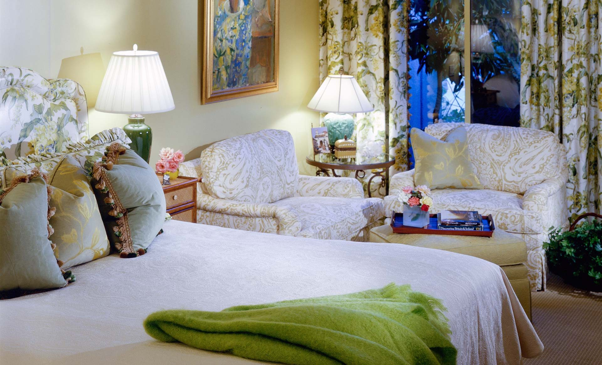 Tampa Interior Design Traditional Master Bedroom